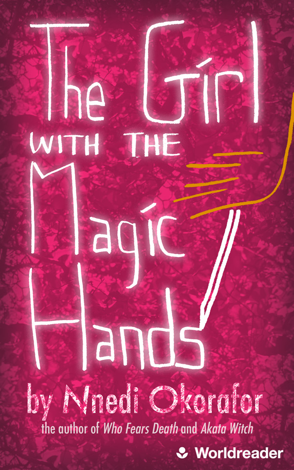 The Girl With the Magic Hands book cover